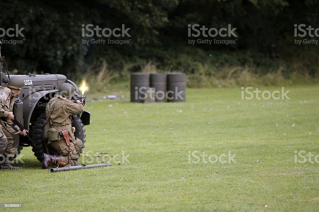 Bullet Time stock photo