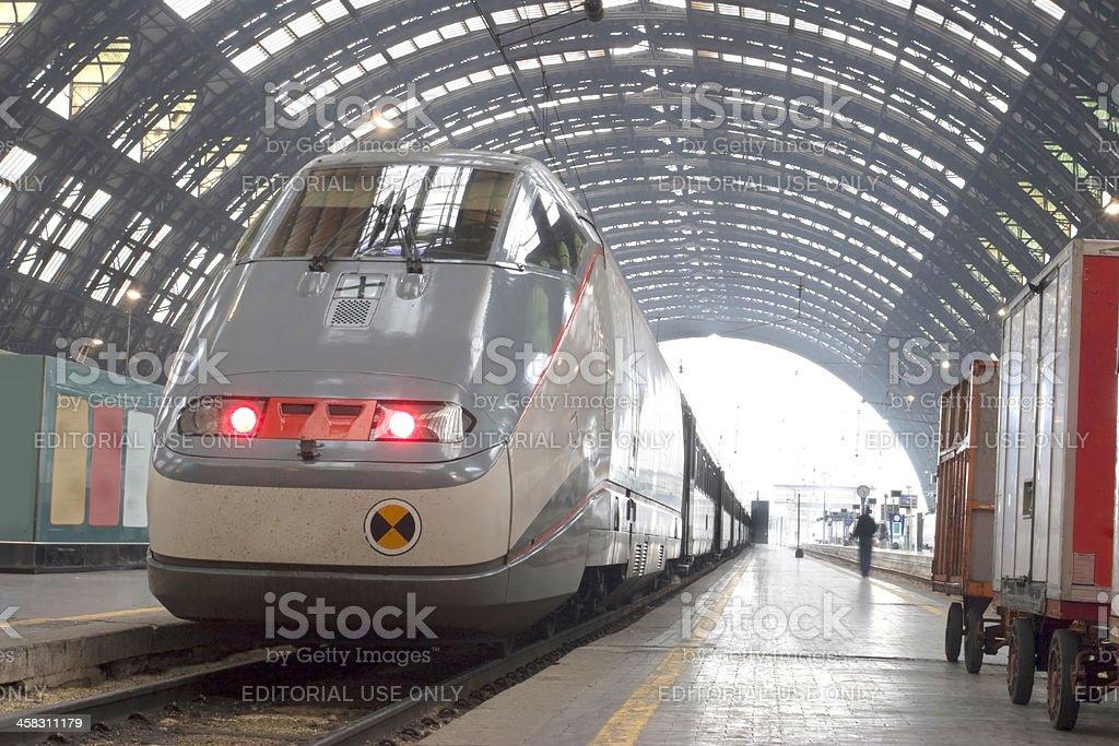ETR500 Bullet Train stock photo