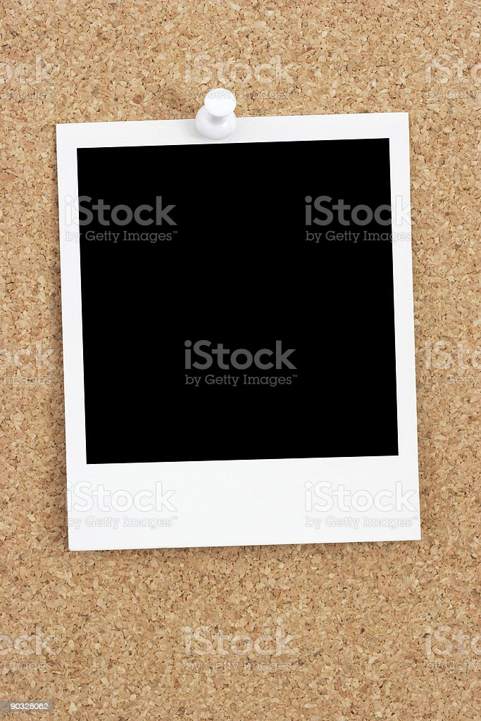 Bulletin Board Snapshot royalty-free stock photo
