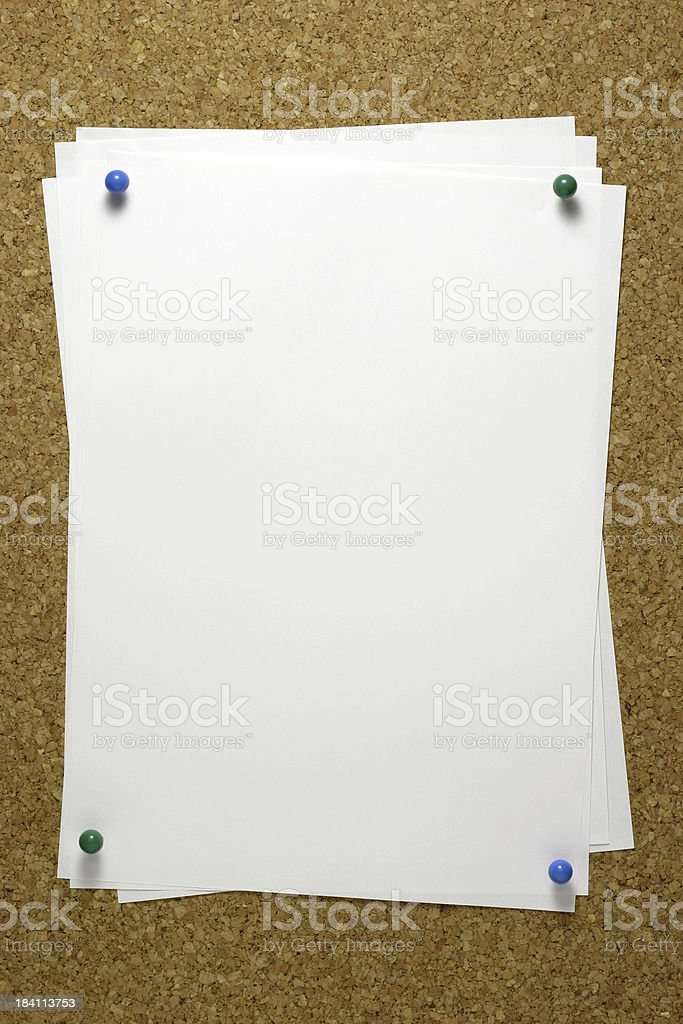 Bulletin royalty-free stock photo