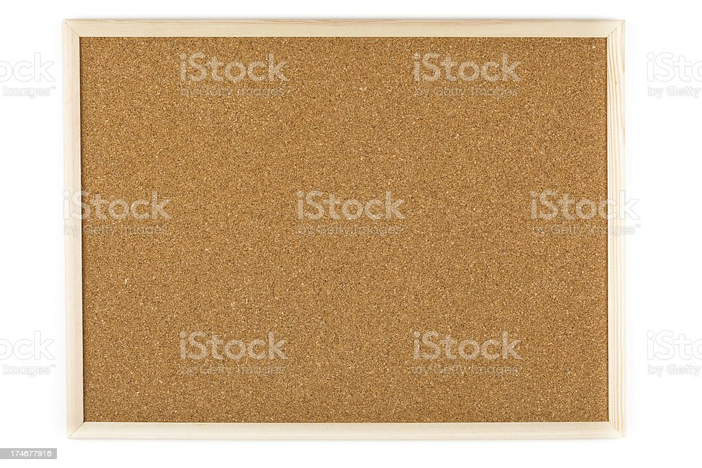XXXL Bulleting board isolated royalty-free stock photo