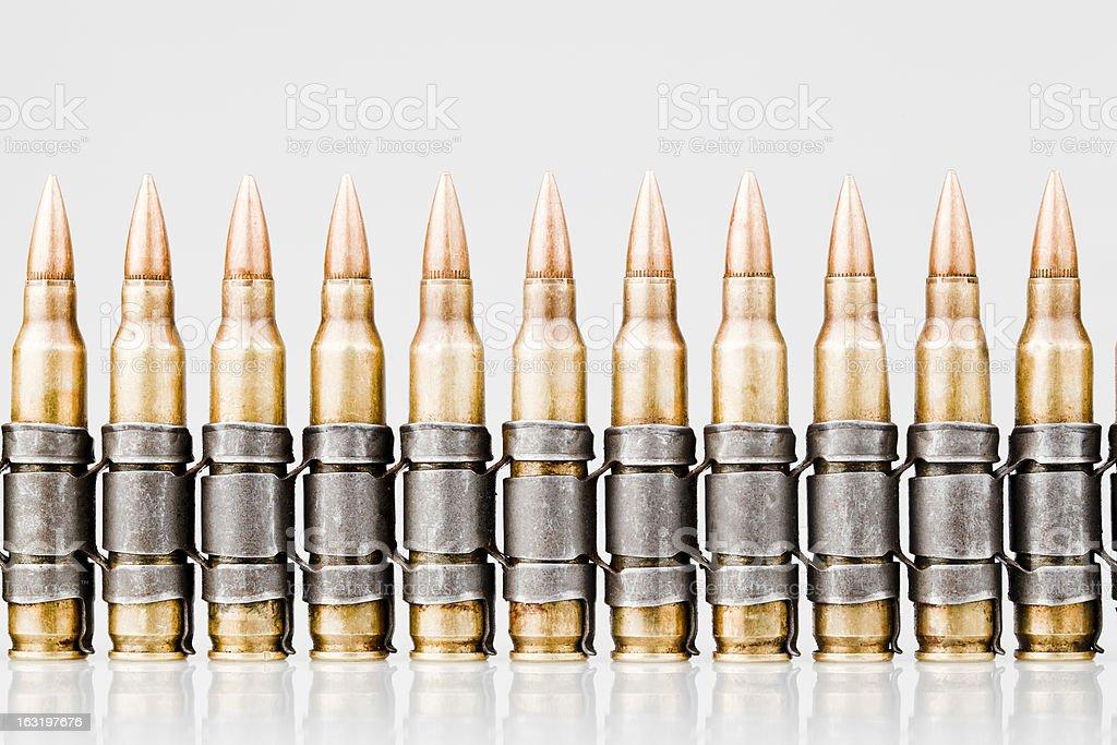 Bullets Belt royalty-free stock photo