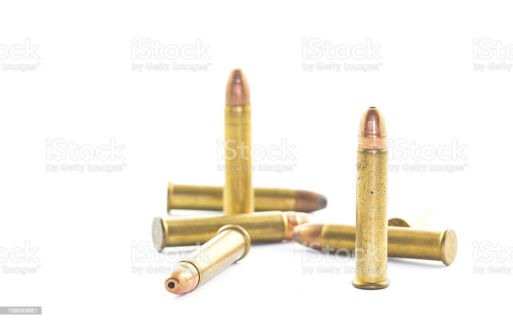 bullets isolated royalty-free stock photo