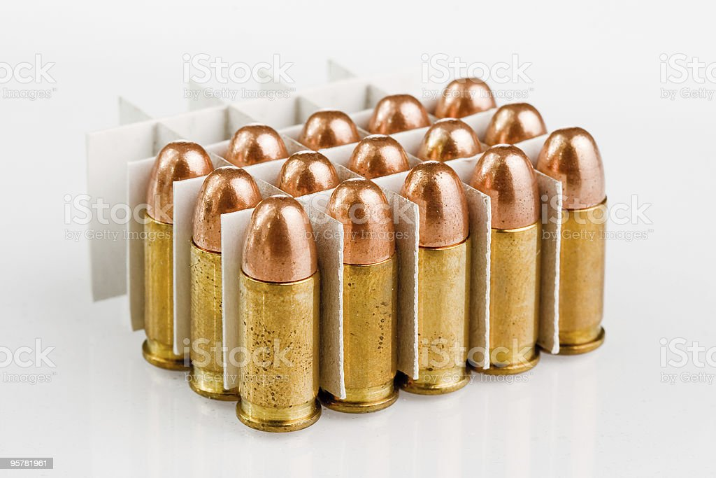 bullets royalty-free stock photo