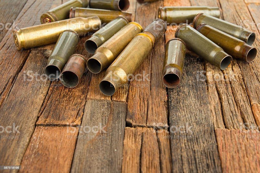 Bullets shell stock photo
