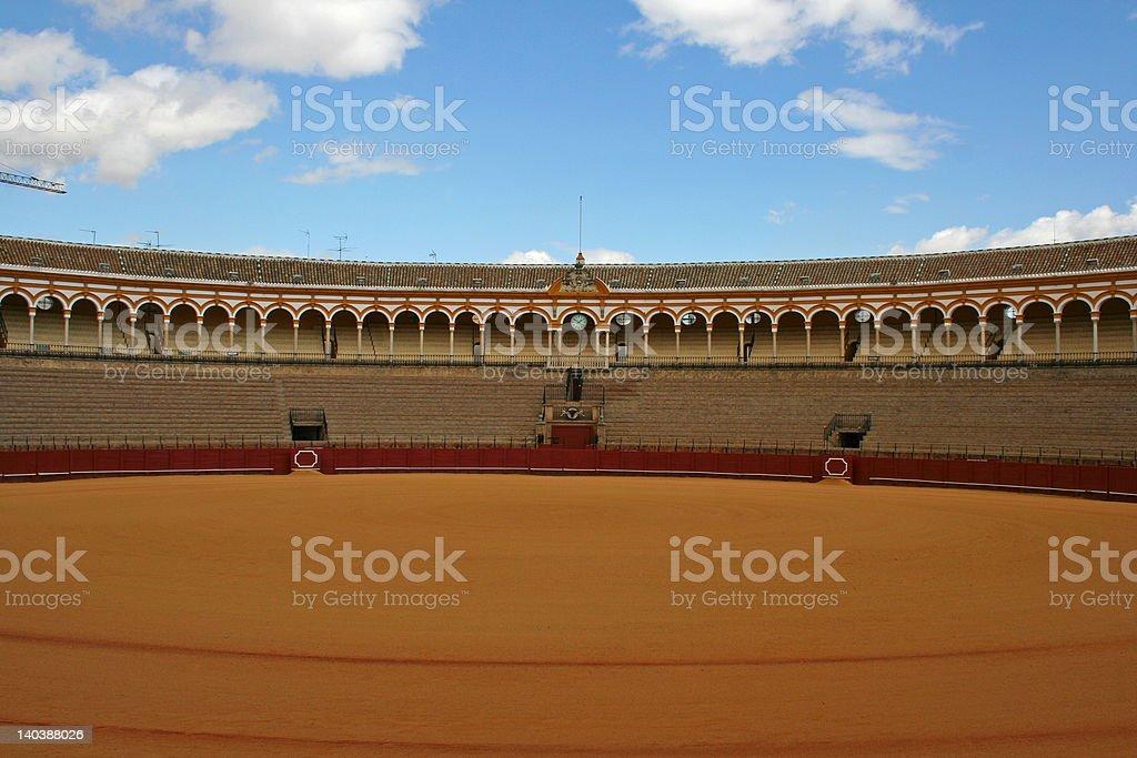Bullfight arena royalty-free stock photo