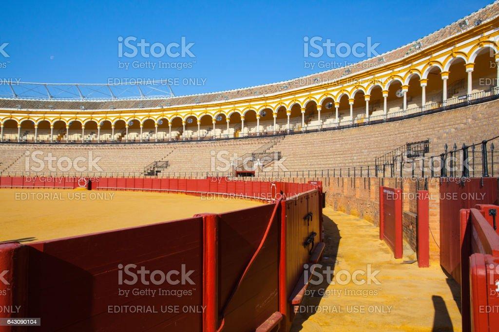 Bullfight arena, stock photo
