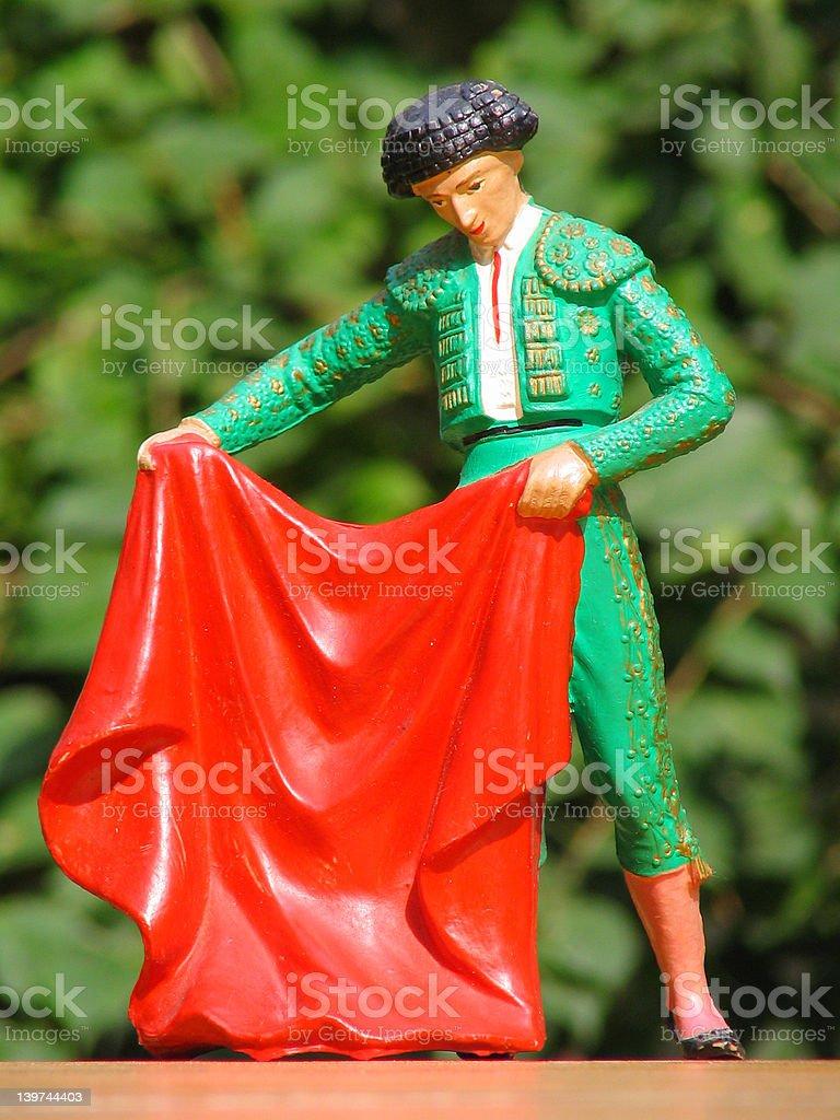Bullfighter royalty-free stock photo