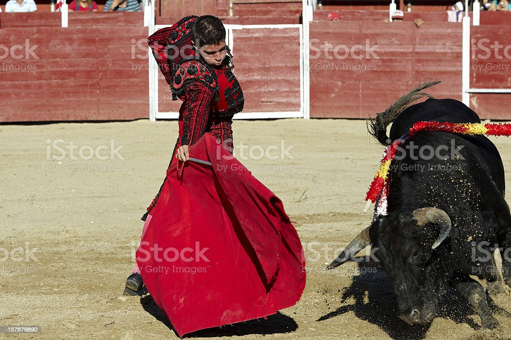 Bullfighter royalty-free stock photo