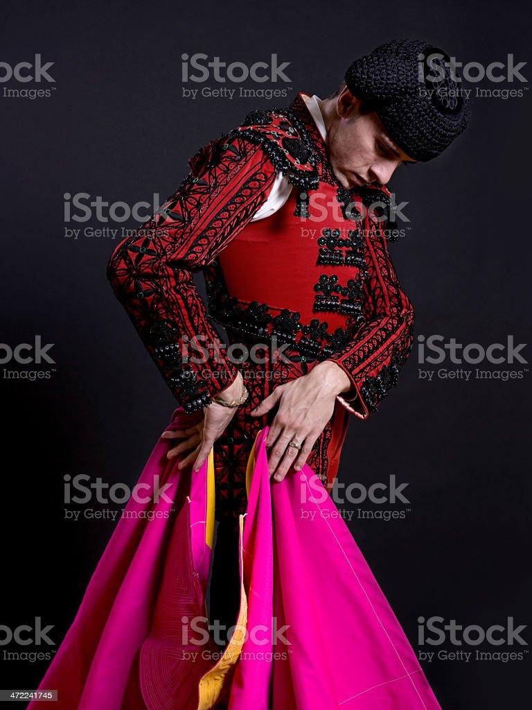 Bullfighter stock photo