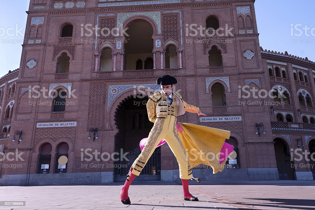 Bullfighter stock photo