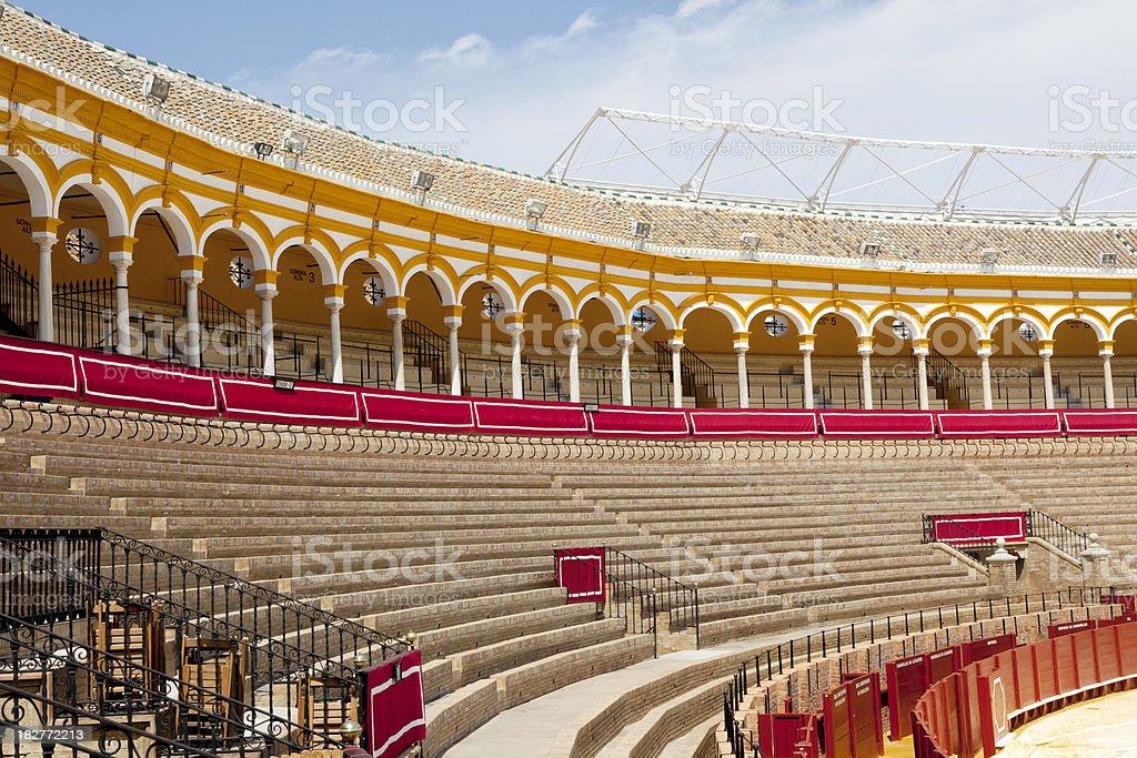 Bullfighting Arena in Seville Spain royalty-free stock photo