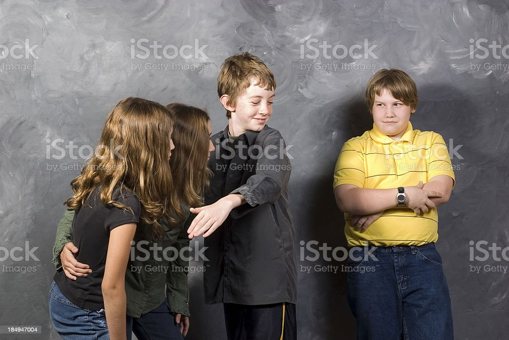 Bullies royalty-free stock photo
