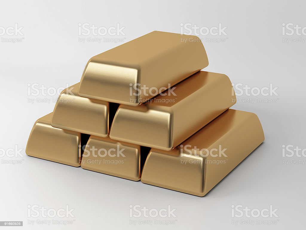 bullion royalty-free stock photo