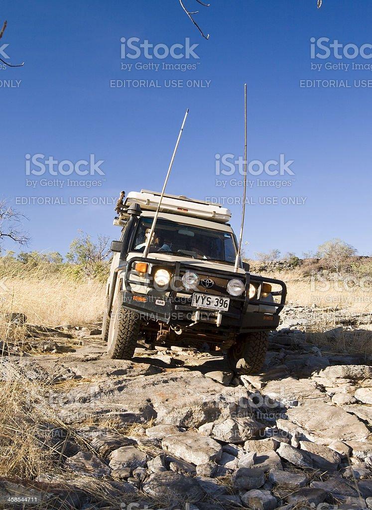 Bullita Stock Route royalty-free stock photo