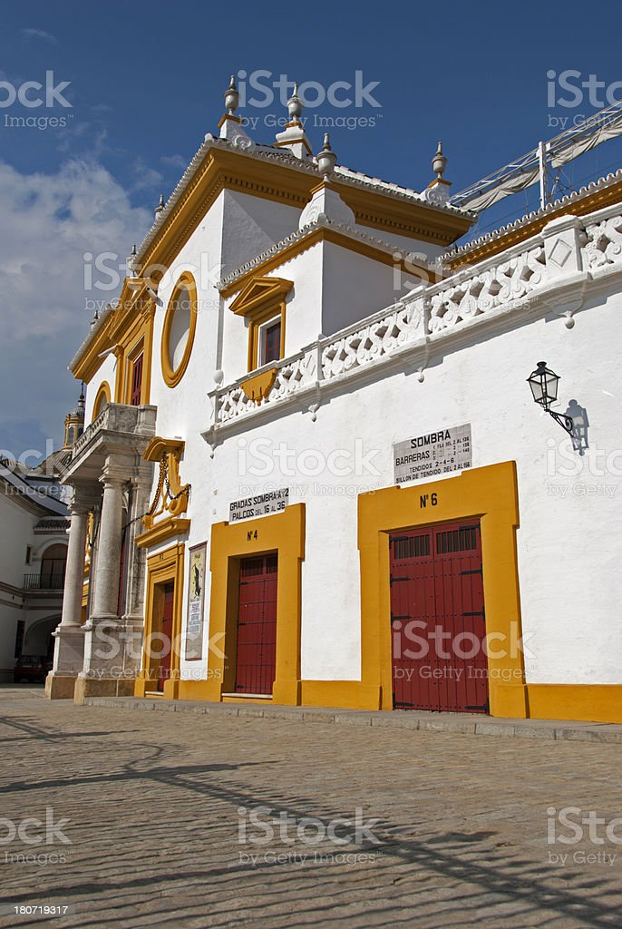 Plaza de Toros royalty-free stock photo