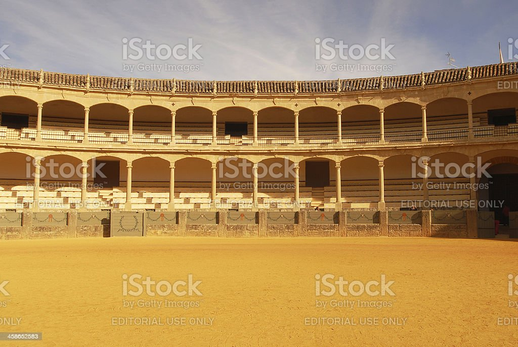 Plaza de Toros stock photo
