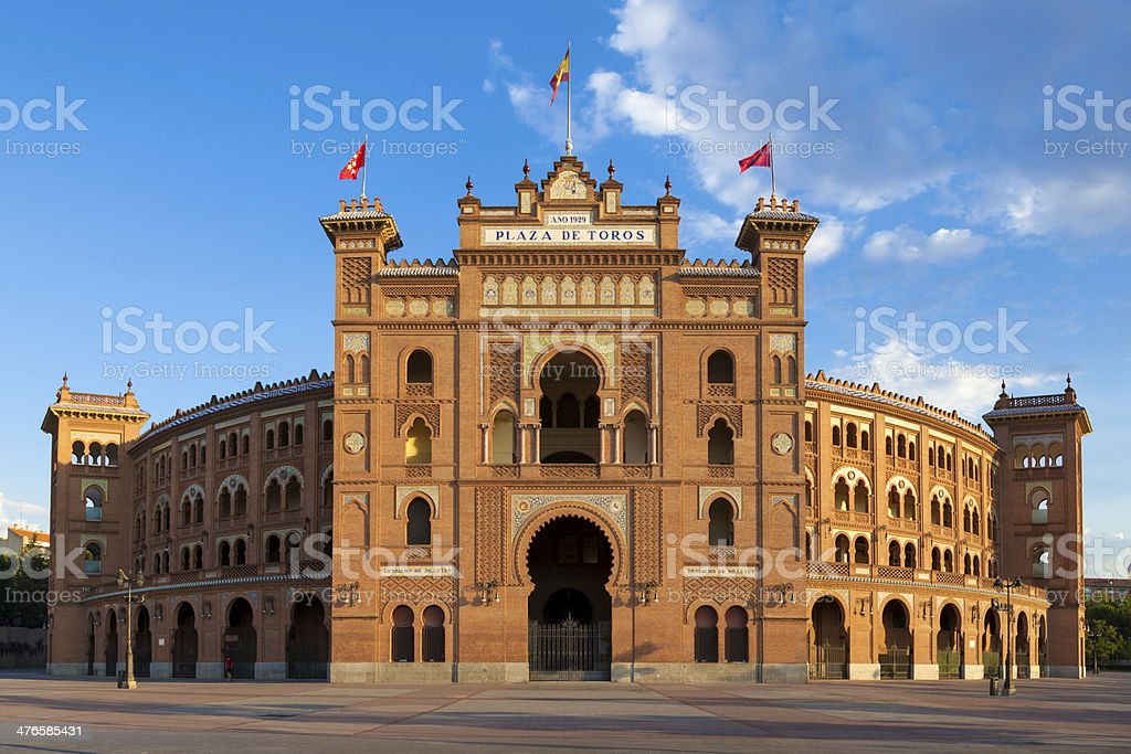 Las Ventas Bullring stock photo