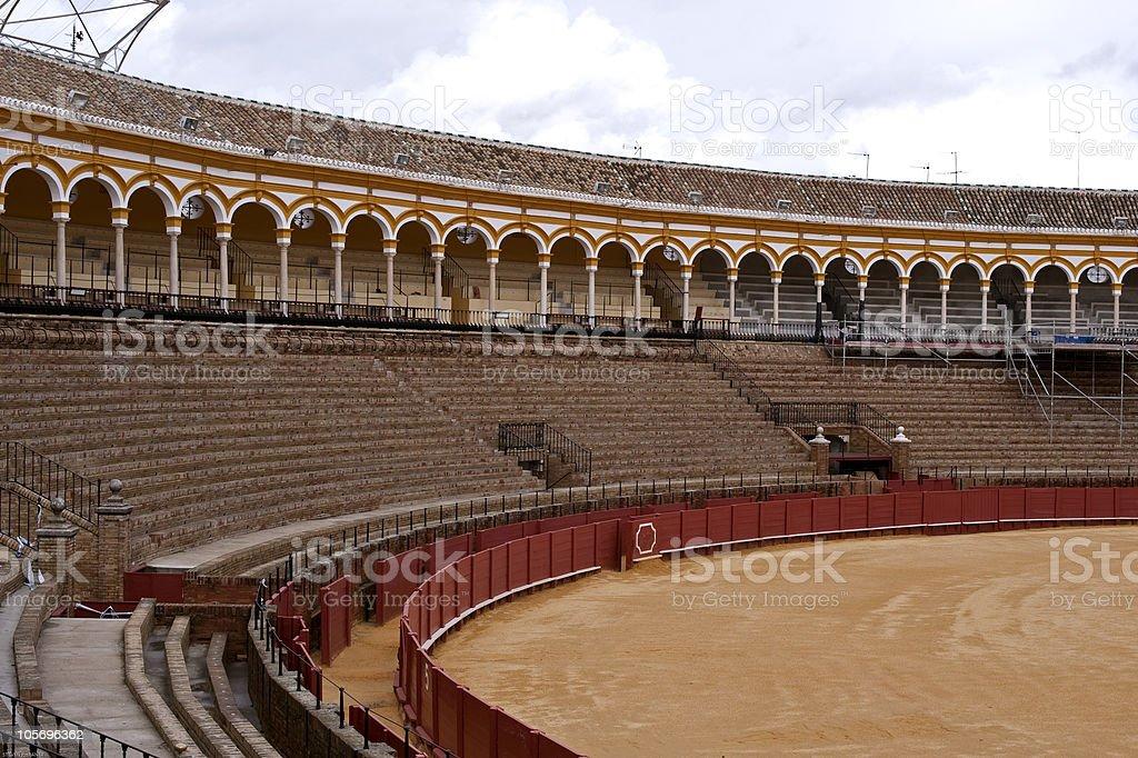 Bullring, Seville royalty-free stock photo