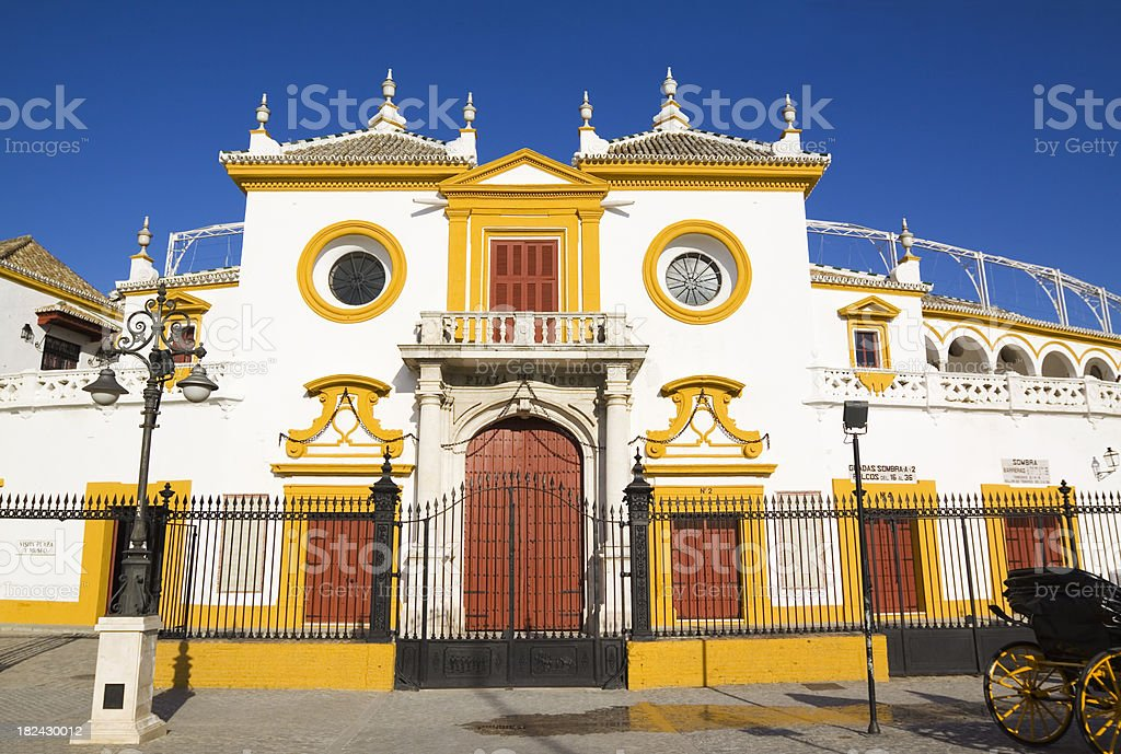 Bullring Seville royalty-free stock photo