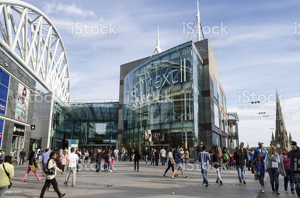 Bullring shopping centre Birmingham, England stock photo