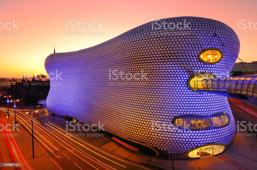 Bullring Shopping Centre, Birmingham, England, UK royalty-free stock photo