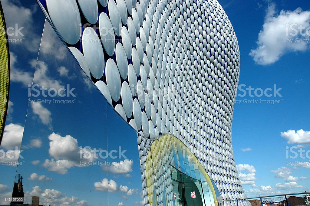Bullring Shopping Centre, Birmingham. U.K. stock photo