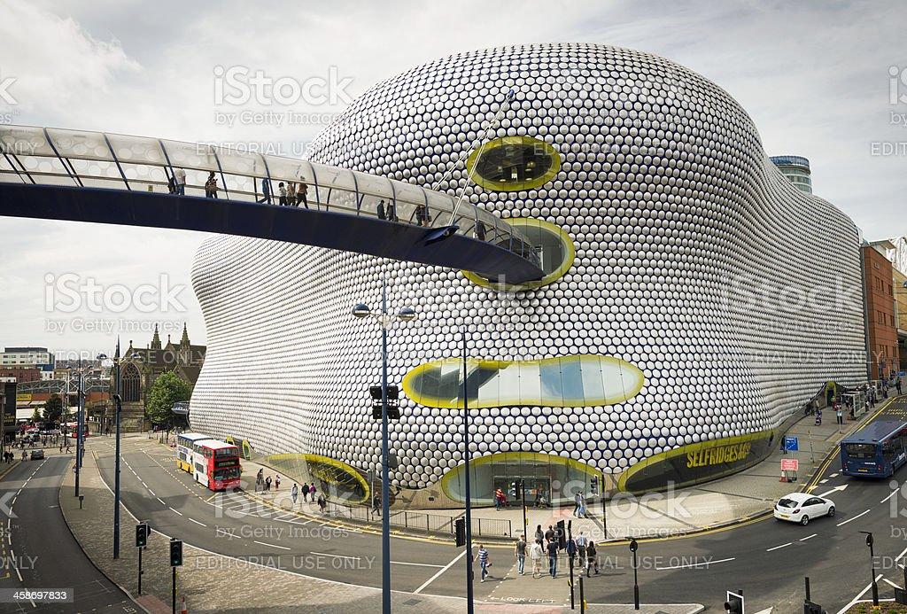 Bullring Shopping in Birmingham royalty-free stock photo