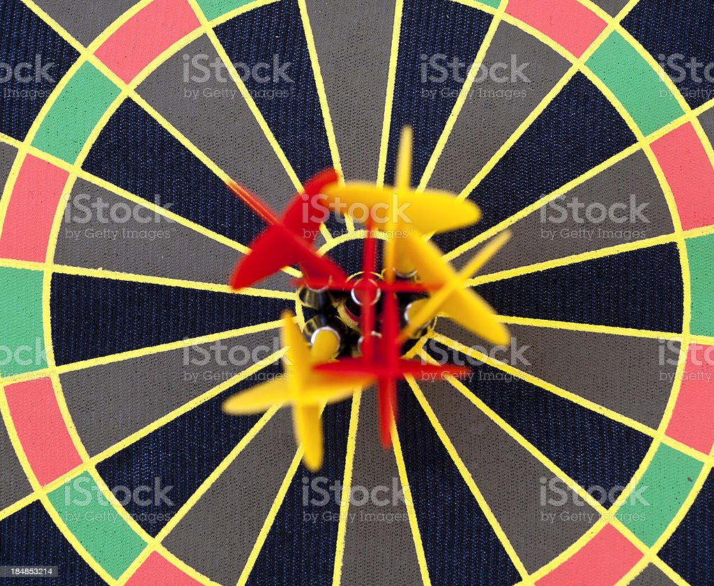 bulls eye frontal view royalty-free stock photo