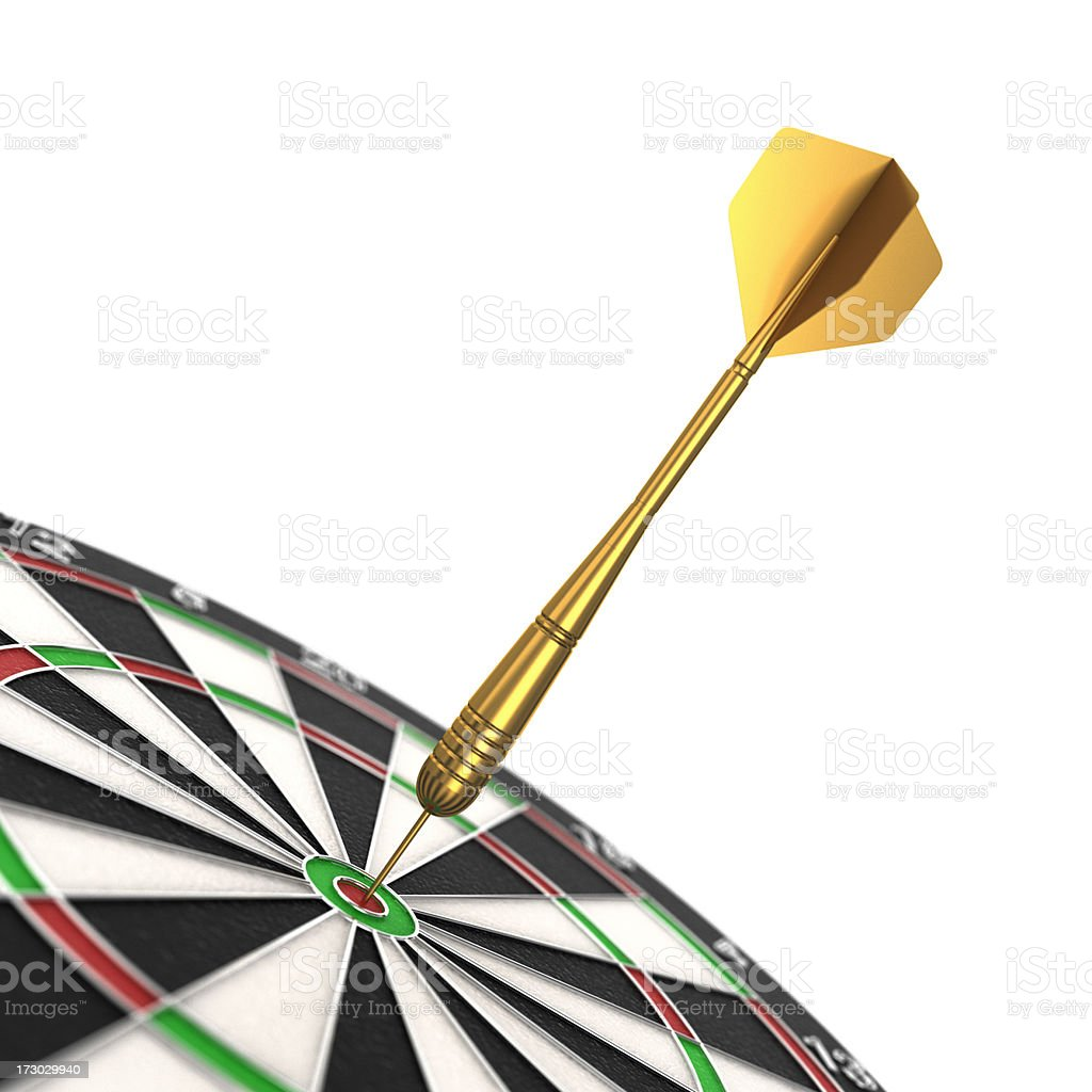 Bulls Eye royalty-free stock photo