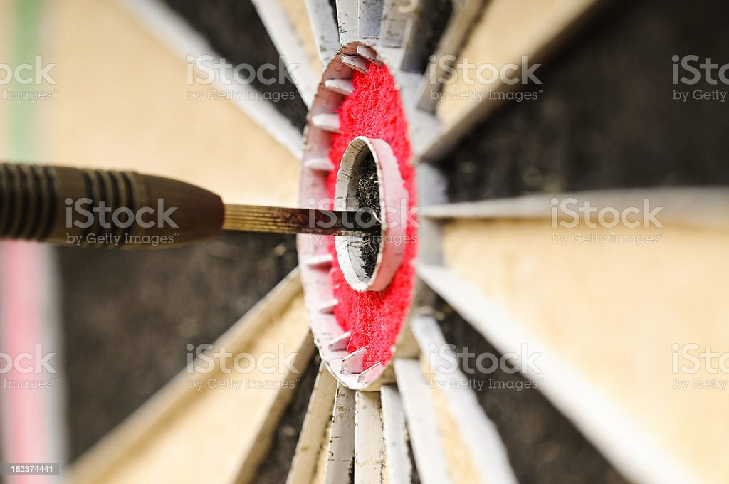 Bulls Eye royalty-free stock photo