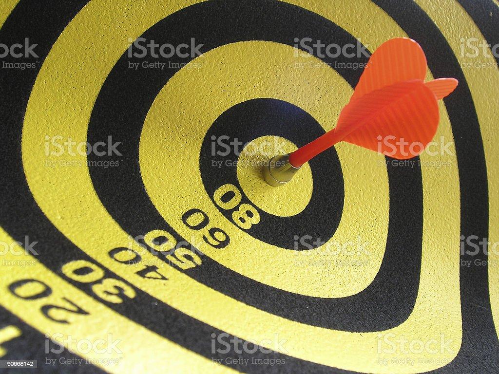 Bulls Eye! royalty-free stock photo
