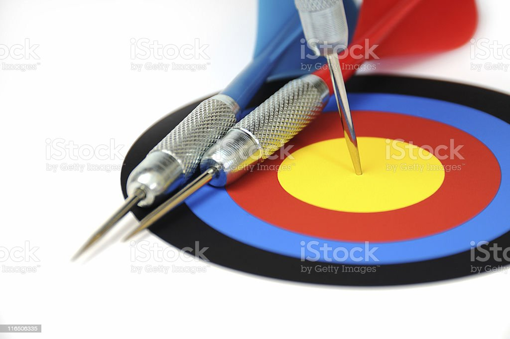 bulls eye XL royalty-free stock photo