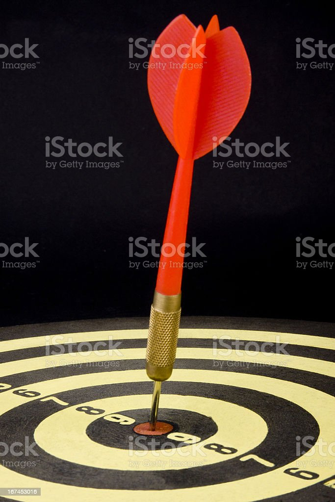Bull's-Eye royalty-free stock photo