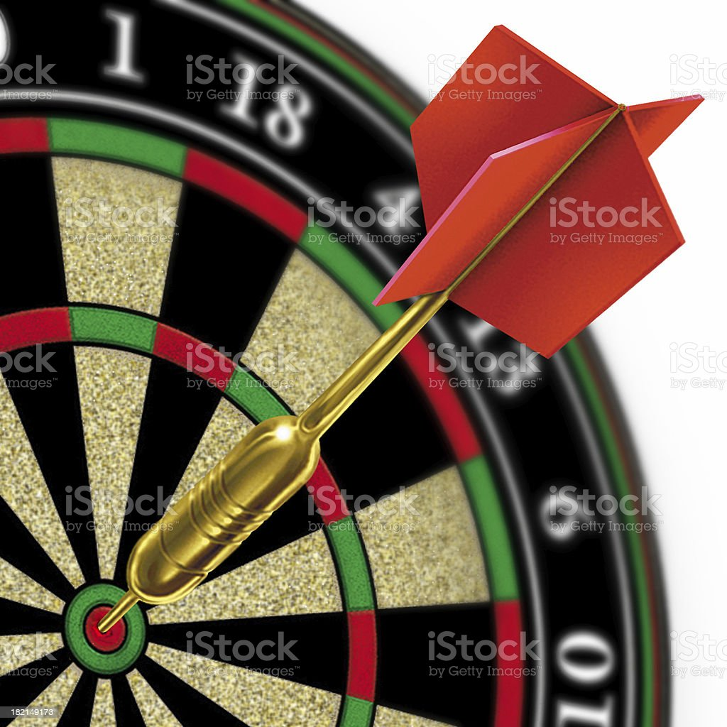 Bullseye ! ( 3 ) royalty-free stock photo