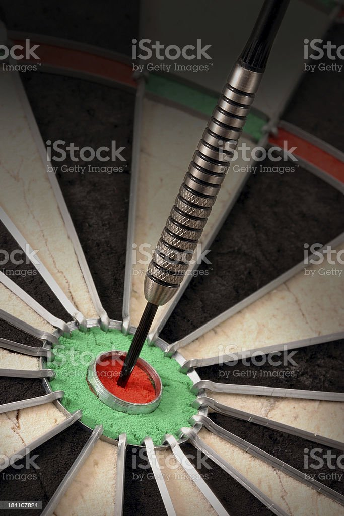 bullseye royalty-free stock photo