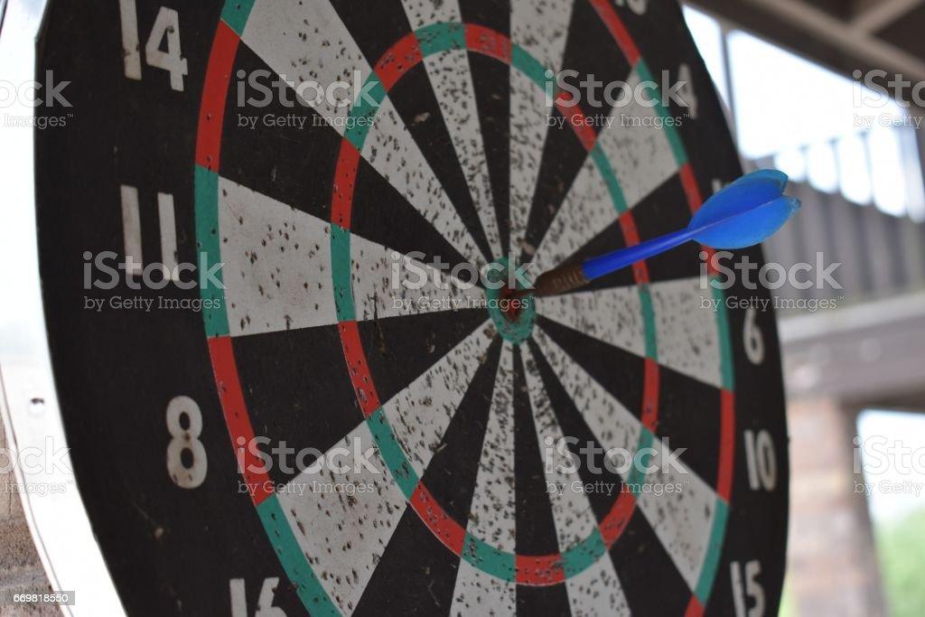 Bull's-eye stock photo