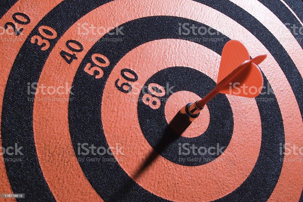Bullseyes royalty-free stock photo