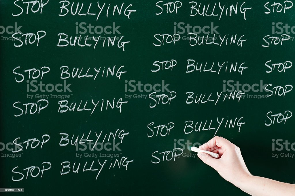 Bullying concept royalty-free stock photo