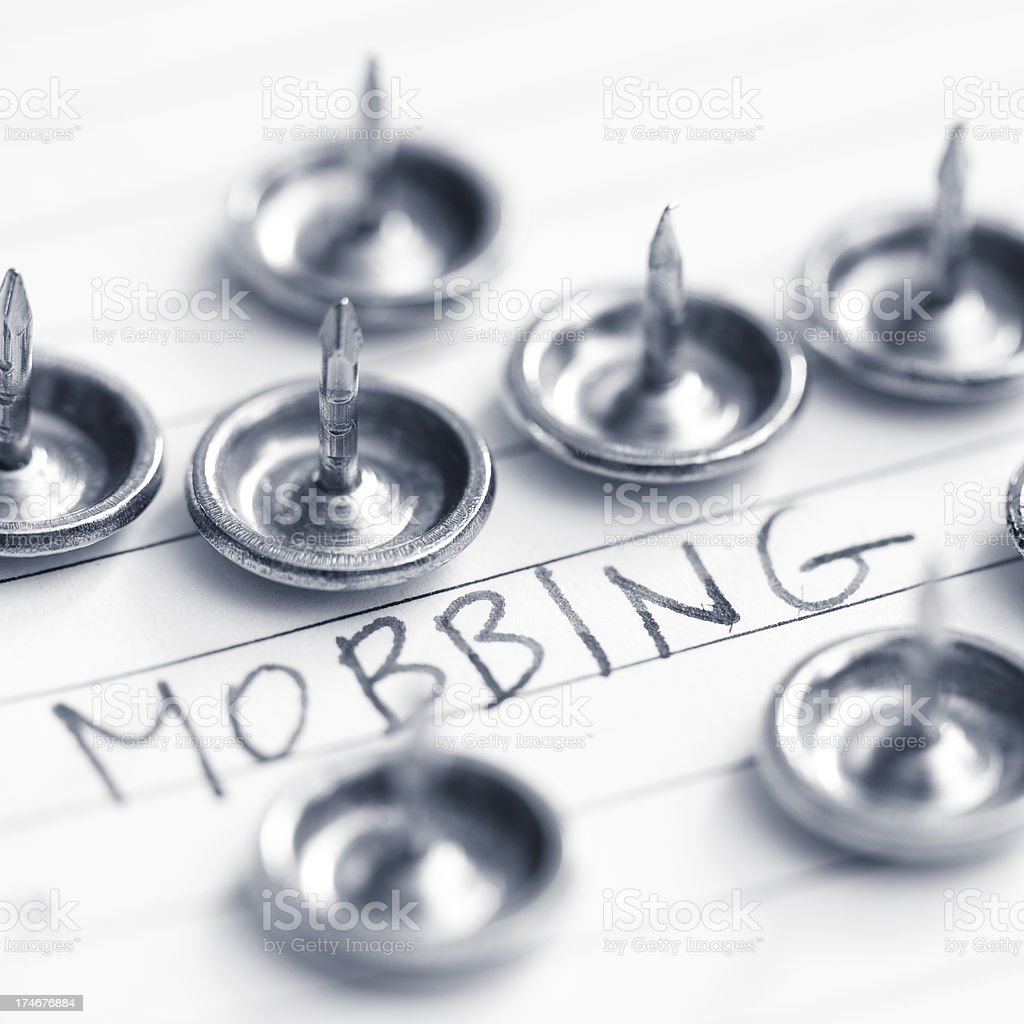 Mobbing royalty-free stock photo