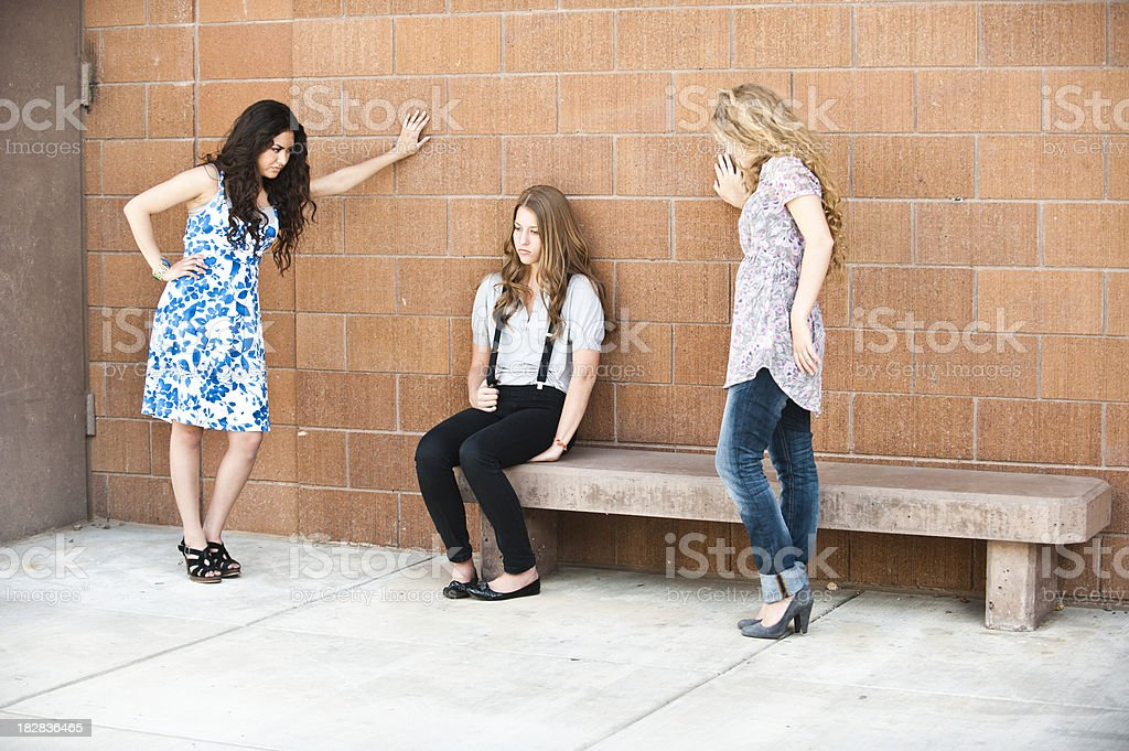 Bullying royalty-free stock photo