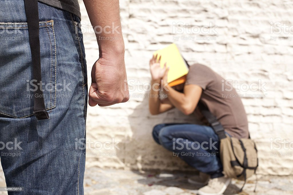 Bullying Victim stock photo
