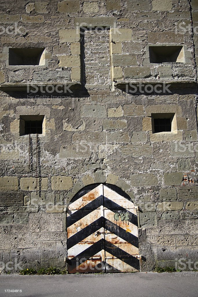 Bulwark from the Medieval stock photo
