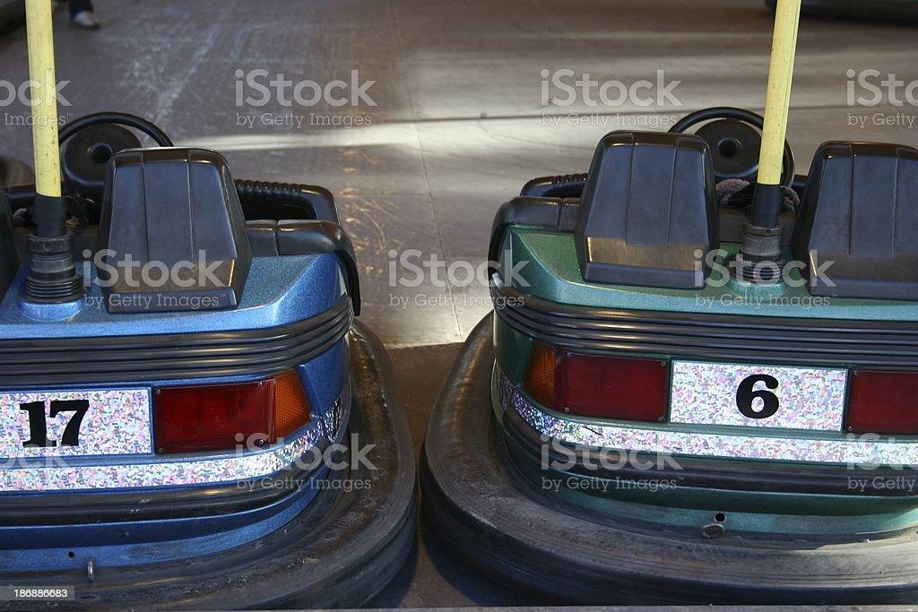 Bumper Cars royalty-free stock photo