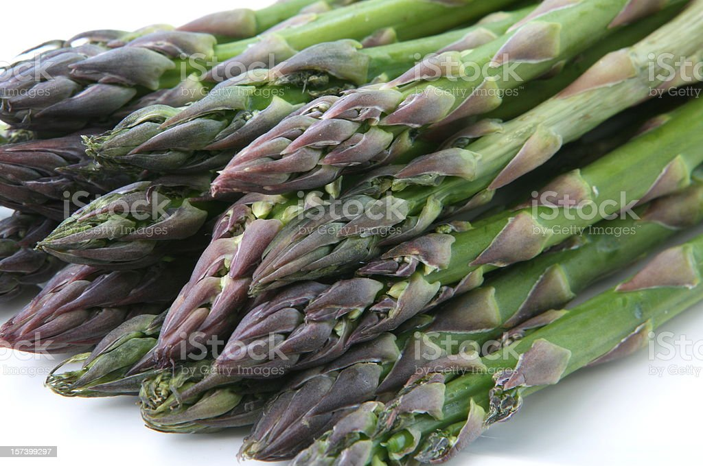 Bunch of Asparagus - Close up royalty-free stock photo