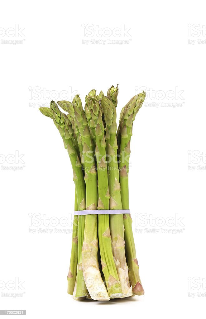 Bunch of asparagus royalty-free stock photo