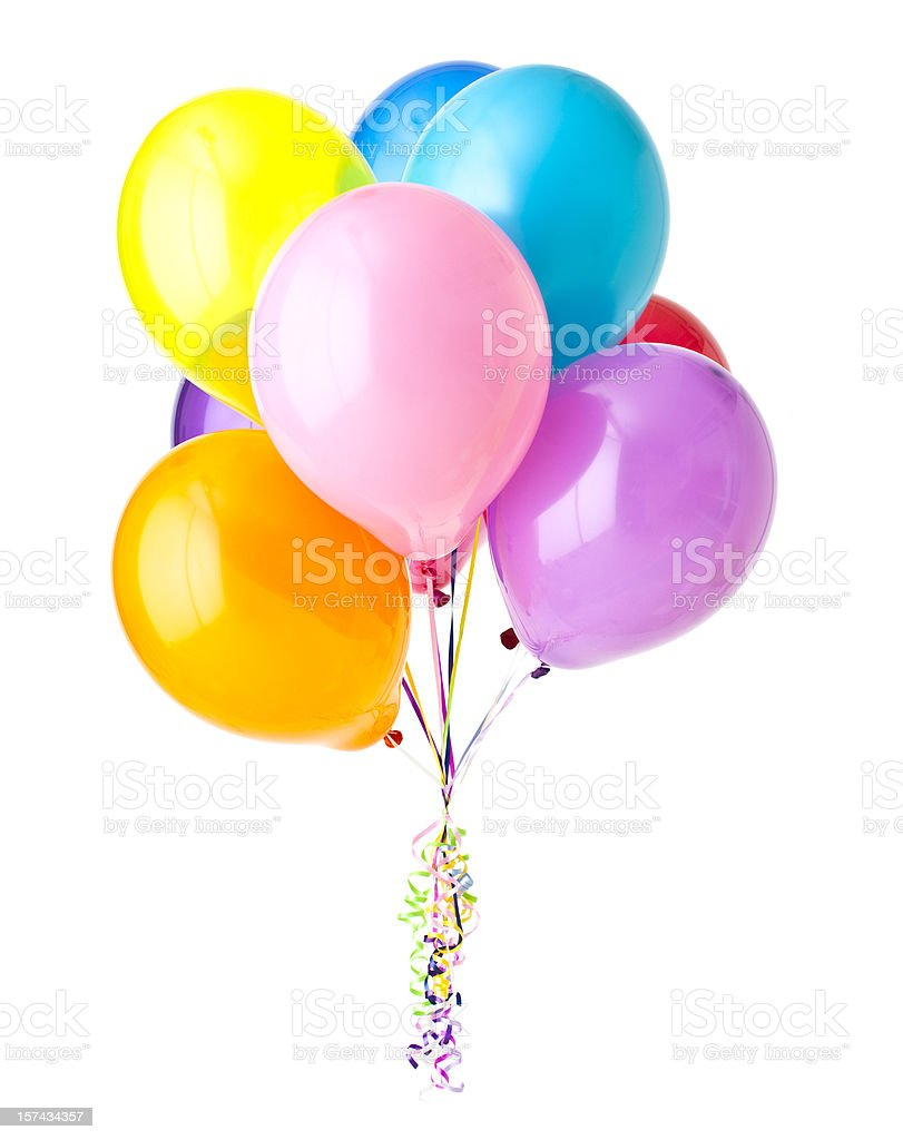 Bunch of Balloons stock photo