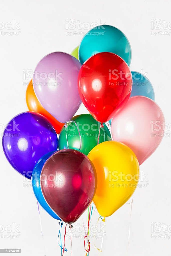 Bunch of Balloons royalty-free stock photo
