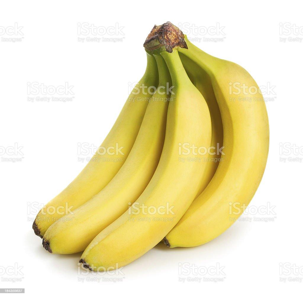 Bunch of bananas stock photo