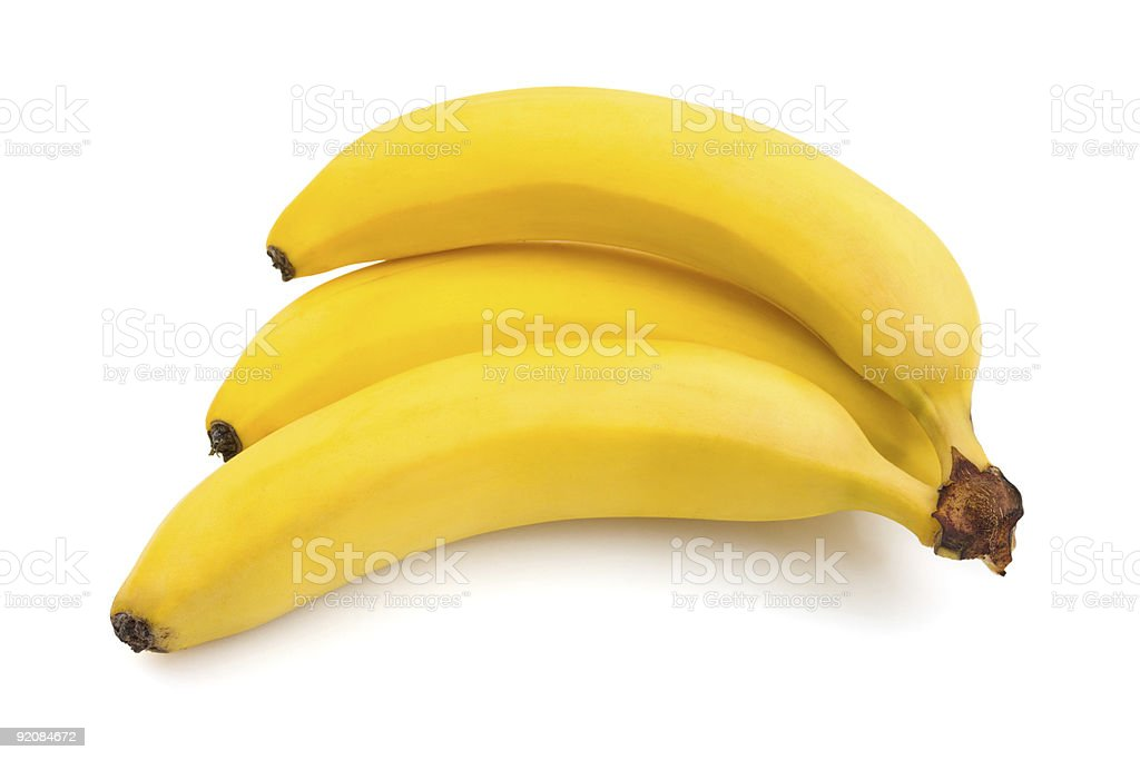 Bunch of bananas royalty-free stock photo